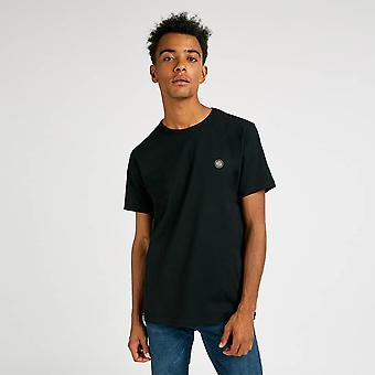 Pretty Green Mens Core Cotton T-Shirt - Black-S