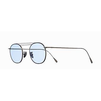 Cutler and Gross 1268 SUN PPL-DPBL Palladium Palated/Pale Blue Sunglasses