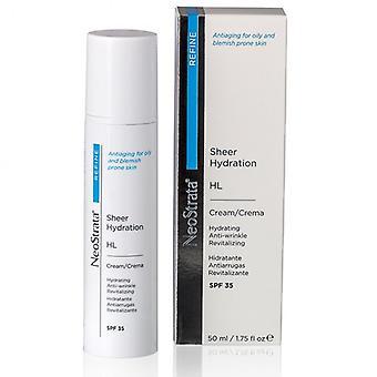 Neostrata Refine Hl Sheer Hydration Facial Cream Spf 35 50ml