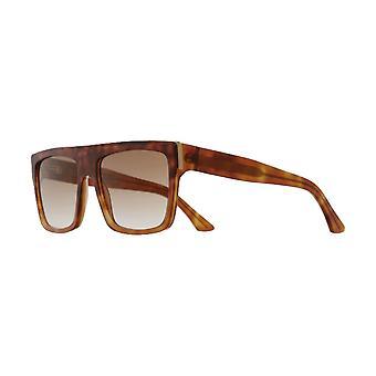 Cutler and Gross 1354 02 Light Dark Tortoise/Brown Gradient Sunglasses