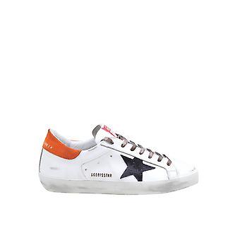 Goldene Gans Gmf00101f00061680505 Herren's Sneakers aus weißem Leder