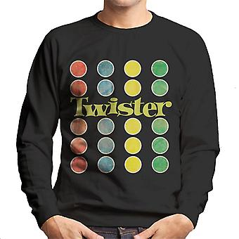 Twister Faded Mat Design Men-apos;s Sweatshirt