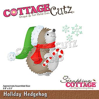 Scrapping Cottage Holiday Hedgehog