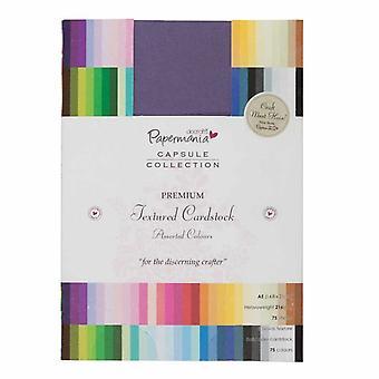 Papermania A5 Premium Cardstock Colossal Texturé (75pcs) (PMA 1641401)