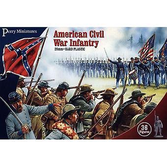 Perry Miniatures 28mm Plastic American Civil War Infantry