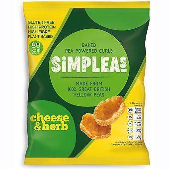 Simpleas Cheese & Herb Pea Curls
