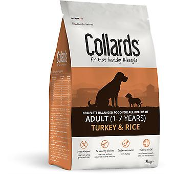 Collards Adult Dog - Türkei & Reis - 2kg