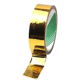 metallinen nauha peili nauha DIY koriste nauhat 30MMx50M kultaa