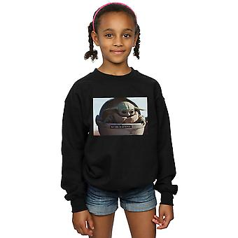 Star Wars Girls The Mandalorian Don't Make Me Sweatshirt