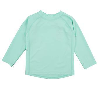 Leveret Long Sleeve Rash Guard (12-18 mois, Aqua)