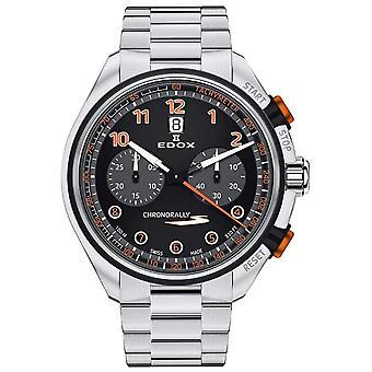 Edox - Armbanduhr - Unisex  - Chronorally-S - Chronograph Automatic - 08005 3NOM NOO