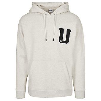 Urban Classics Men's Hooded Sweater Oversized Frottee Patch