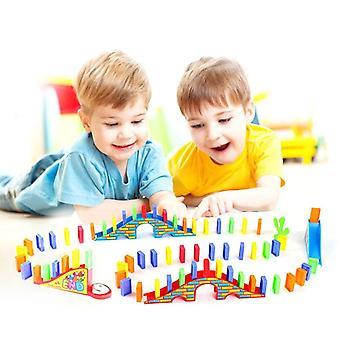 100pcs gyerekek korai fényes oktatási műanyag toy