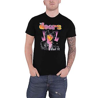 The Doors T Shirt Jim Morrison Beam Band Logo new Official Mens Black