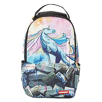Sprayground Unicorn Money Rolls Backpack - Blue
