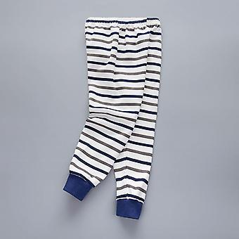 Summer Autumn Baby's Printing Striped Classic Leggings Pants 3-12y Hiver
