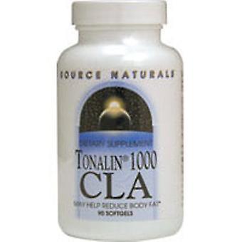 Bron Naturals Tonalin Cla, 1000 mg, 90 Sftgls
