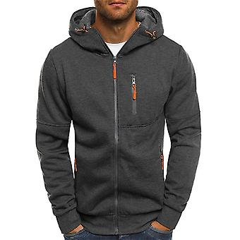 Waterdichte mannen running jacket, softshell leger hoodies