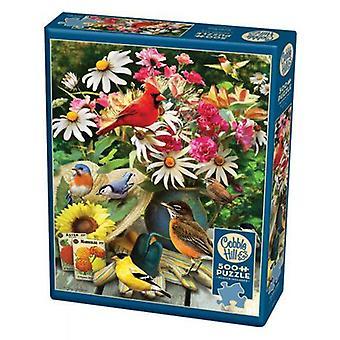 Cobble hill puzzle - garden birds - 500 pc