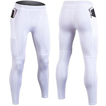 Compression hommes, pantalon running tights fitness pants gym yoag pants -crossfit