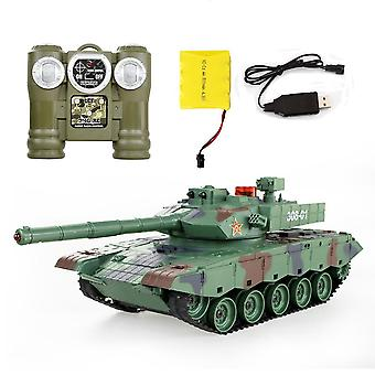 Top Remote Control Tank Against Rc Parent-child Infrared With Turret Model