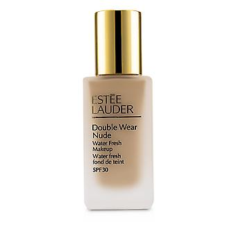 Double porter de l'eau nue maquillage frais fps 30 # 2 c1 beige pur 227725 30ml/1oz