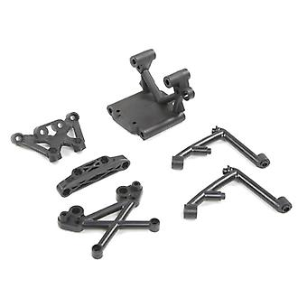 Front Bulk Head Set For 1/5 Hpi Rovan Baja 5b 5t 5sc