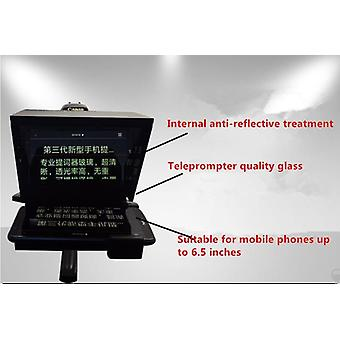 Upgrade Mini Teleprompter, Portabil Inscriber Mobile Teleprompter Artefact