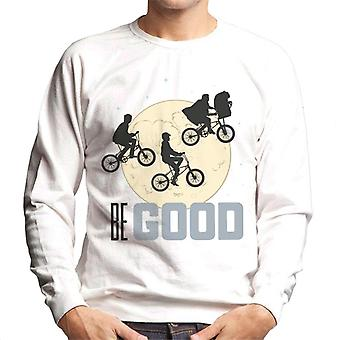 E.T. Classic Shot Be Good Men's Sweatshirt