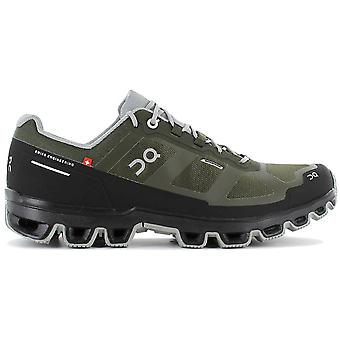 ON Running Cloudventure Waterproof - Men's Trail Running Shoes Green 22.99761 Sneakers Sports Shoes