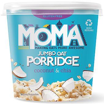 Moma Gluten Free Jumbo Oat Coconut & Chia Porridge Pots