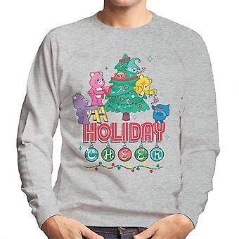 Hoitokarhut Avaa Magic Christmas Holiday Cheer Men's Collegepaita