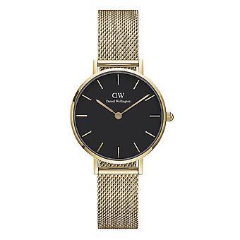 Daniel Wellington DW00100349 Petite Evergold Black Dial Gold Tone Wristwatch