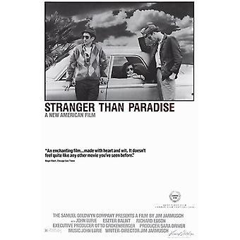 Stranger Than Paradise Movie Poster (11 x 17)