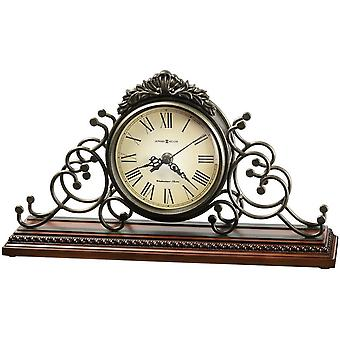 Howard Miller Adelaide Mentel Clock - Dark Grey/Brown