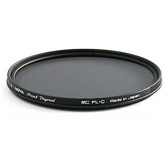 Hoya 37 mm pro1 digital polarised circular filter for lens, black 37mm single