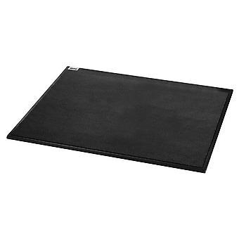 Sigel Cintano Mouse Mat Pad - Premium Imitation Leather, 22 x 20 cm, black