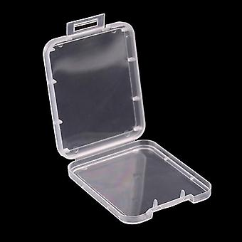 Memory Card Case Box Protective Case For Sd Sdhc Mmc Xd Cf Card White