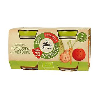 Tomato sauce with vegetables 2 units of 80g