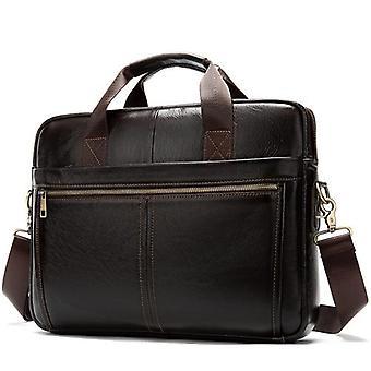 Men's Genuine Leather Laptop Bag,  Tote For Document