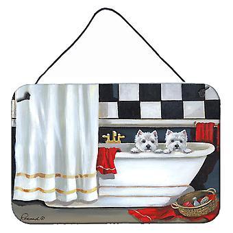 Westie بور لو باين حمام الجدار أو باب شنقا يطبع