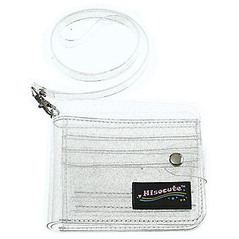 Solid Color Transparent Wallets Mini Coin Purse Fashion Small Bag Women's Jelly