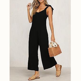 Frauen solide frische Overalls Jumpsuits Vogue Candy Color Sommer Strampler Hose