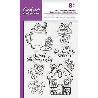 Crafter's Begleiter süße Weihnachten klare Briefmarken