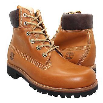 Timberland Earthkeeper 6 tommers dame støvler brunt skinn jenter 8633R B4E