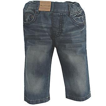 Timberland 5 Pockets Stone Wash Kids Regular Fit Blue Jeans T0648 480