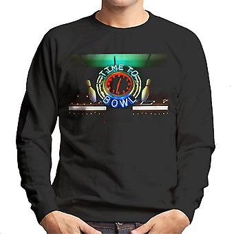 Big Lebowski Aika keilata Neon Sign Men's Collegepaita