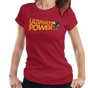 Sonic The Hedgehog Shadow Ultimate Power Kvinnor & apos, s T-shirt