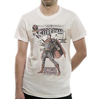 Superman Unisex Adults The Amazing New Adventures Of Superman #233 Print T-Shirt