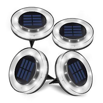 8 Led Solar Pathway Lights Outdoor Waterproof Garden Landscape Lighting